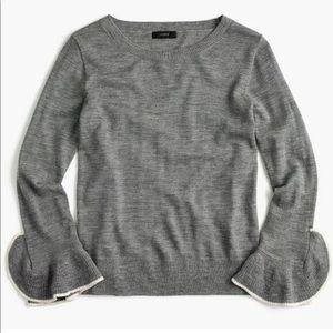 J Crew Merino Wool Crewneck Lightweight Sweater XS